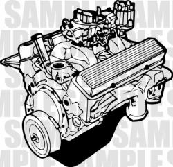 Engine clipart automobile engine