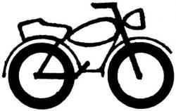 Chopper clipart motorcycle wheel