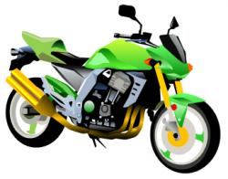 Vehicle clipart motorbike