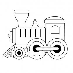 Engine clipart black and white
