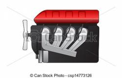 Engine clipart diesel engine