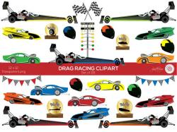 Engine clipart drag race