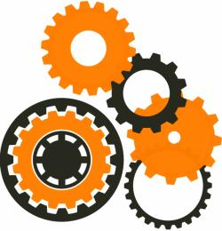Machine clipart mechanical wheel