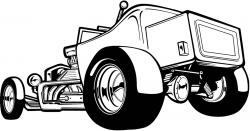 Chevrolet clipart hotrod