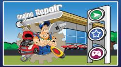 Engine clipart mechanic shop