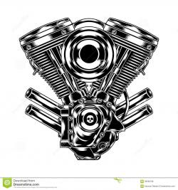 Engine clipart motorbike