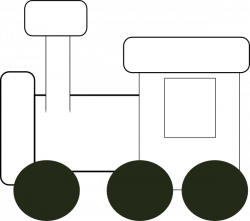 Engine clipart outline