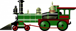Locomotive clipart train crash