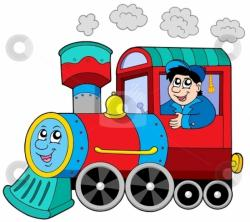 Engine clipart railroad train