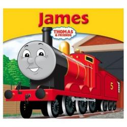 Thomas The Tank Engine clipart james