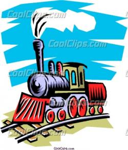 Engine clipart steam train
