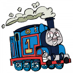 Thomas The Tank Engine clipart rail engine