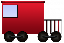 Engine clipart train caboose