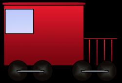 Engine clipart train caboose