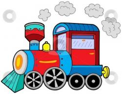 Locomotive clipart animated train