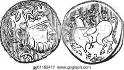 Engraving clipart ancient