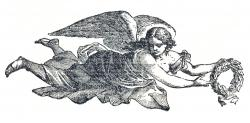 Medieval clipart angel