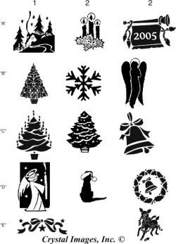 Engraving clipart christmas