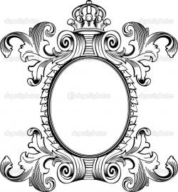 Engraving clipart frame