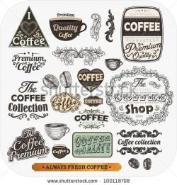 Engraving clipart menu board
