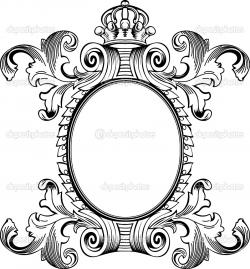 Engraving clipart scroll
