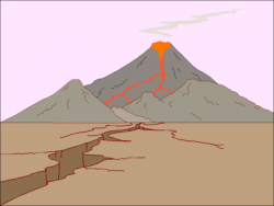 Lava clipart animated