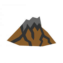 Lava clipart dormant volcano