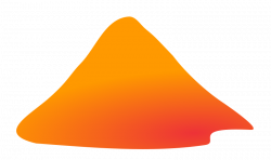 Lava clipart volcano