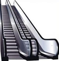 Escalator clipart