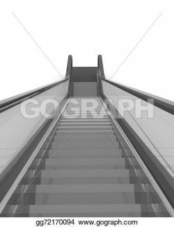 Escalator clipart architecture