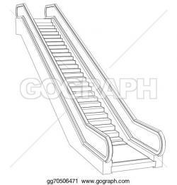 Escalator clipart plan