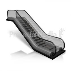 Escalator clipart side view
