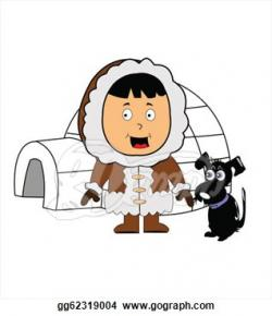Eskimo clipart animated