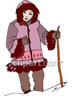 Eskimo clipart coat
