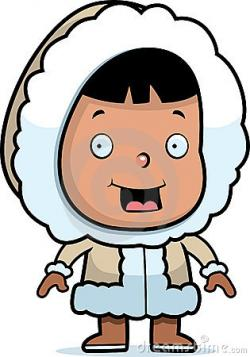 Eskimo clipart cute cartoon