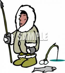 Spear clipart inuit