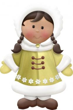 Eskimo clipart happy