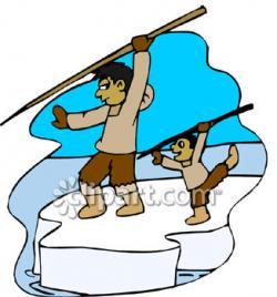 Eskimo clipart hunting