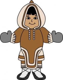 Eskimo clipart inuit person