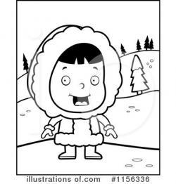 Eskimo clipart outline