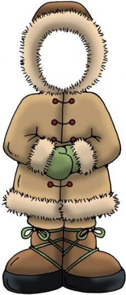 Eskimo clipart winter kid