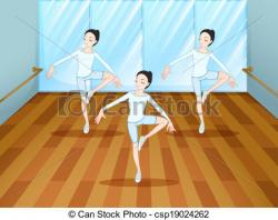 Ballet clipart dance studio