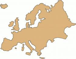 Continent clipart cartoon