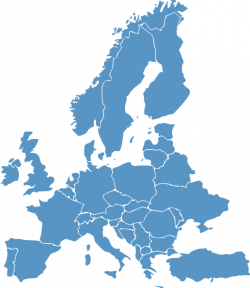 Europe clipart map