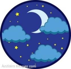 Night Sky clipart evening