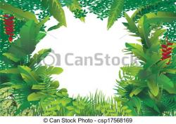 Exotic clipart tropical forest