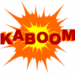Nuclear Explosion clipart chemical explosion