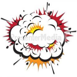 H-bomb clipart boom