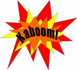 Nuclear Explosion clipart kaboom
