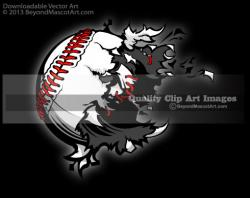 Explosions clipart baseball